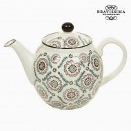Čajová kanvica Magic Porcelana Nadruk (22 x 12 x 14 cm) - Kitchen's Deco Kolekcja by Bravissima Kitc