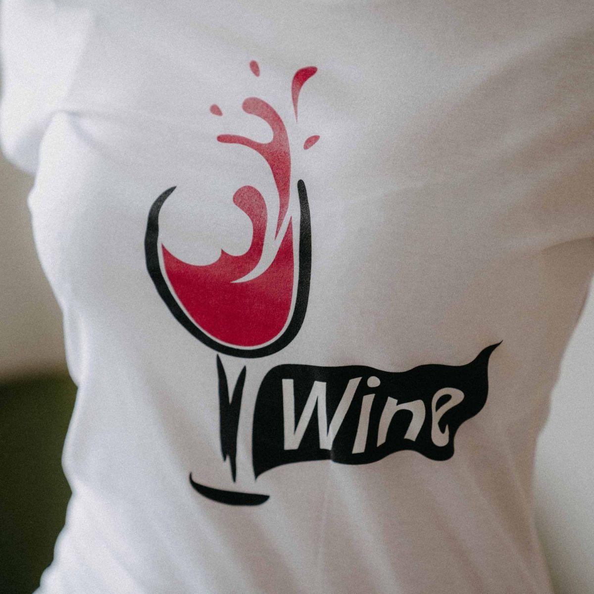 Dámské tričko Víno p1
