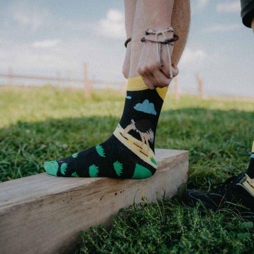 Ponožky - Pštros p1