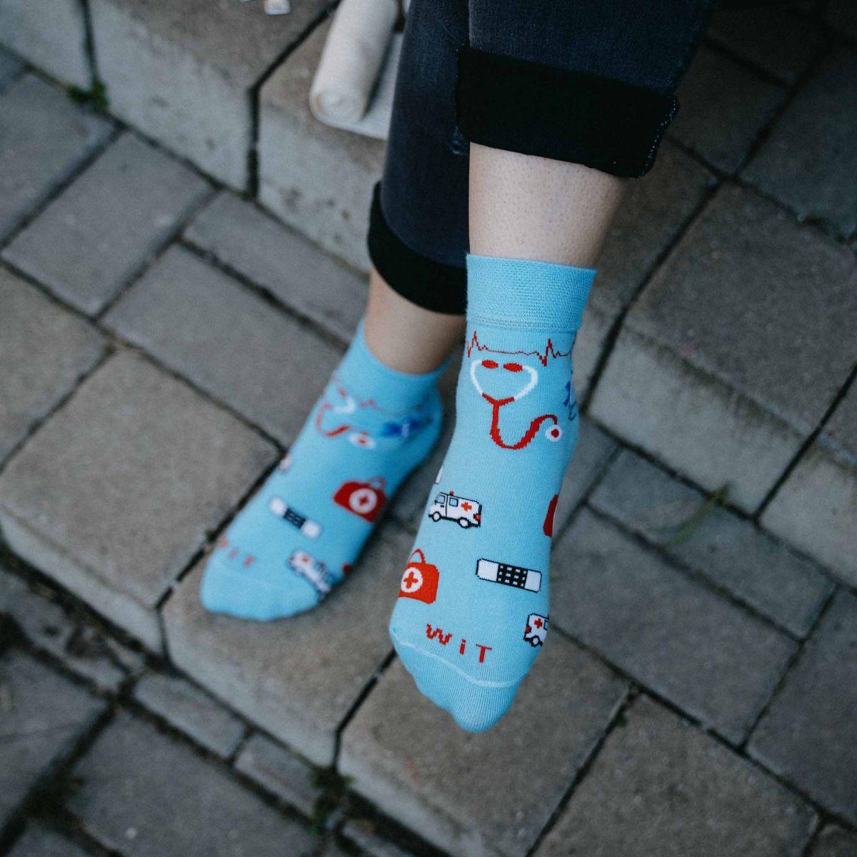 Ponožky - Zdravotníctvo 2