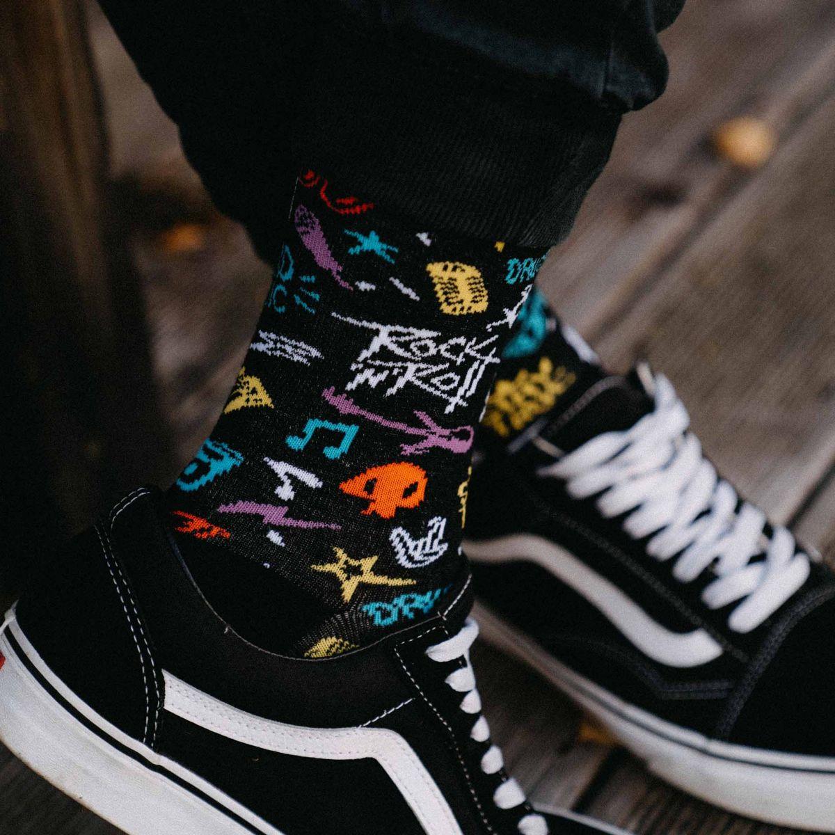 Ponožky - Rock  p1