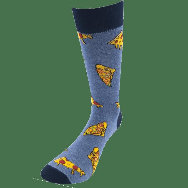 Ponožky - Pizza v dárkové krabičce p3