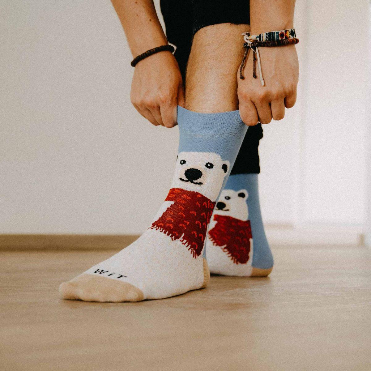 Socken - Eisbär