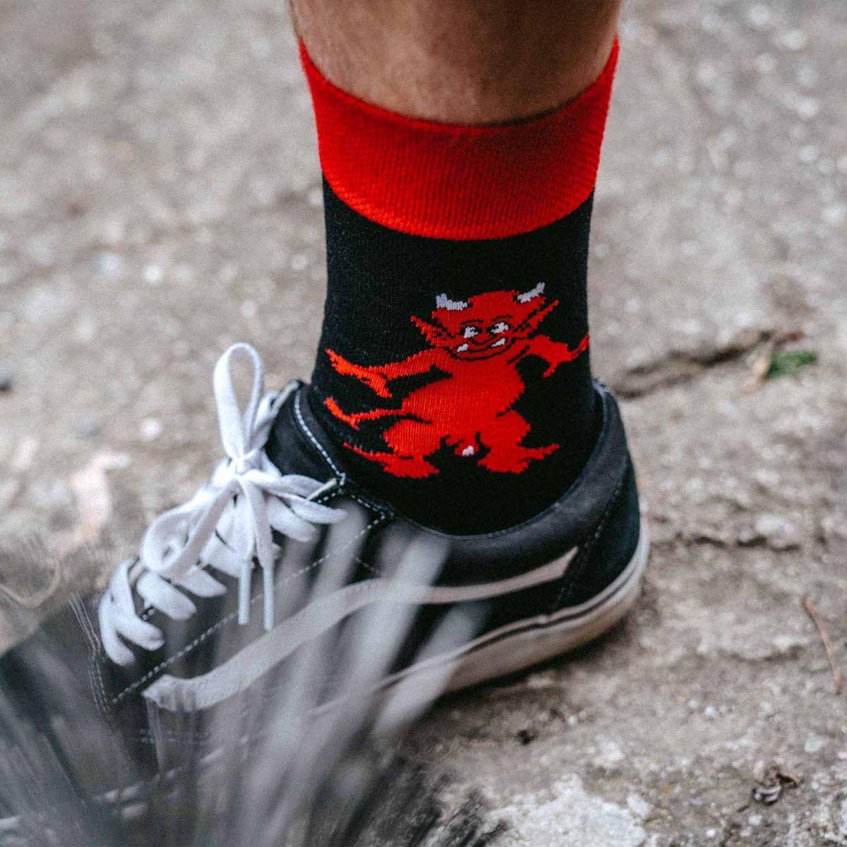 Șosete - Diavol p1