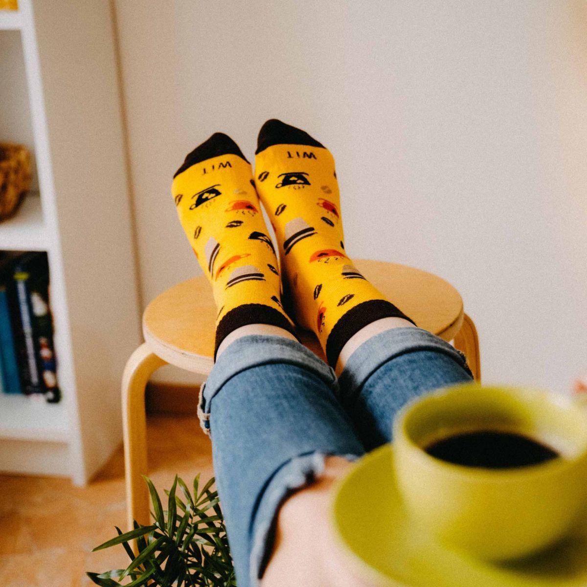 Ponožky - Káva 2