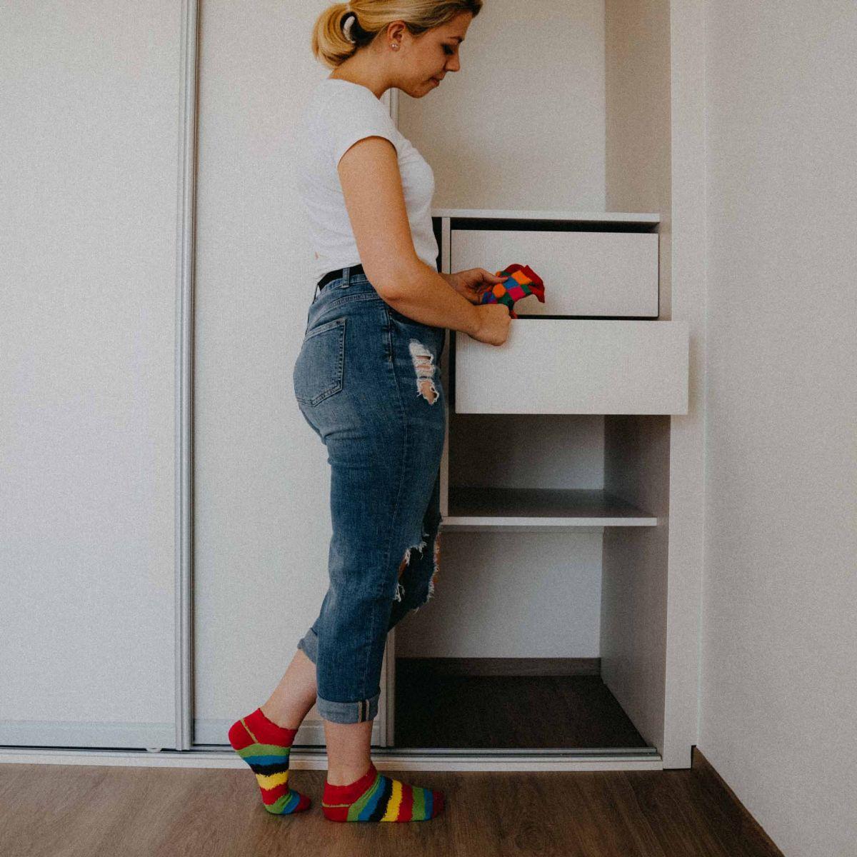 Ponožky - Pruhy nízké p1