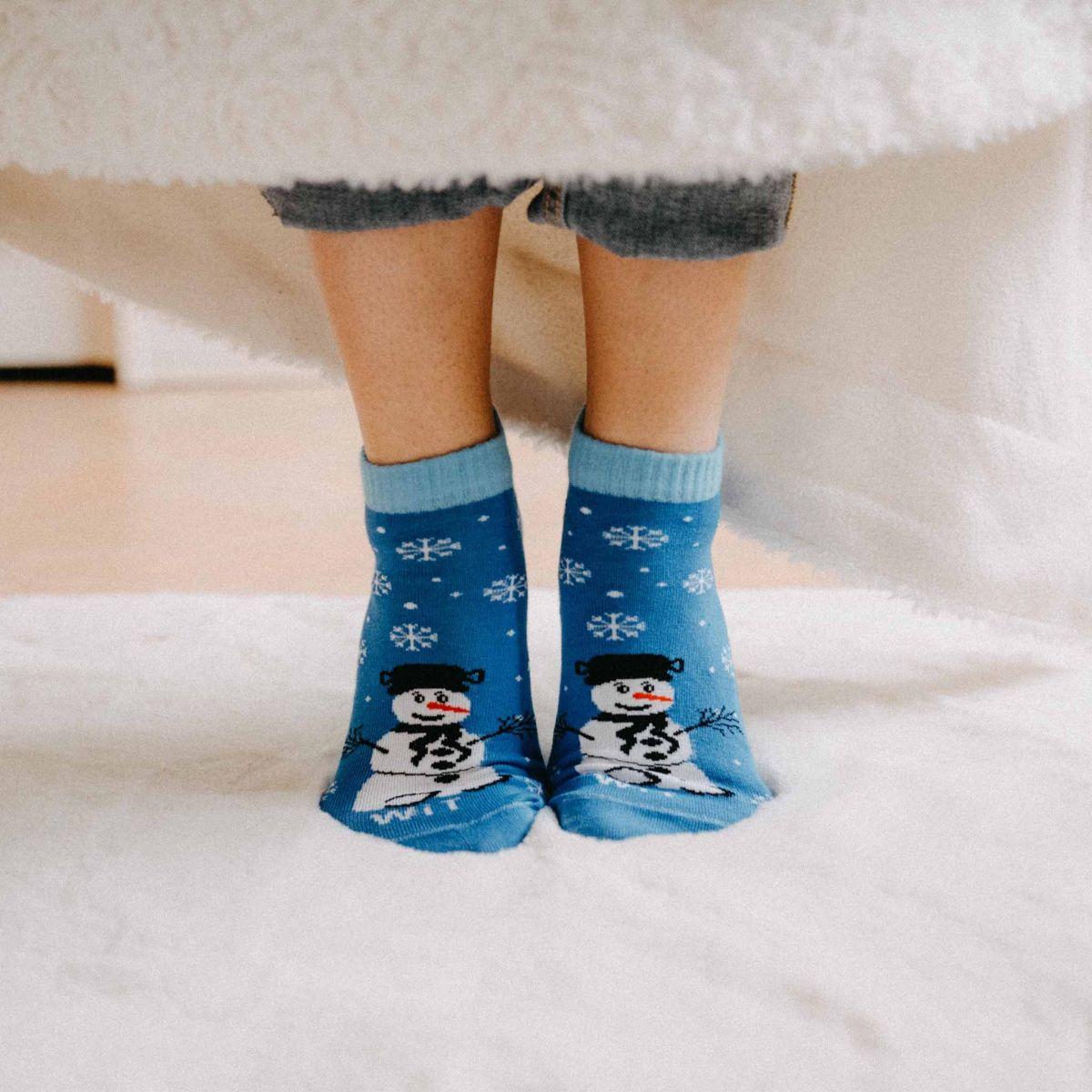 Ponožky - Vianoce nízke