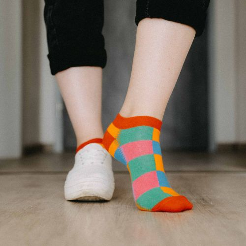 Ponožky - Barevné nízké p2