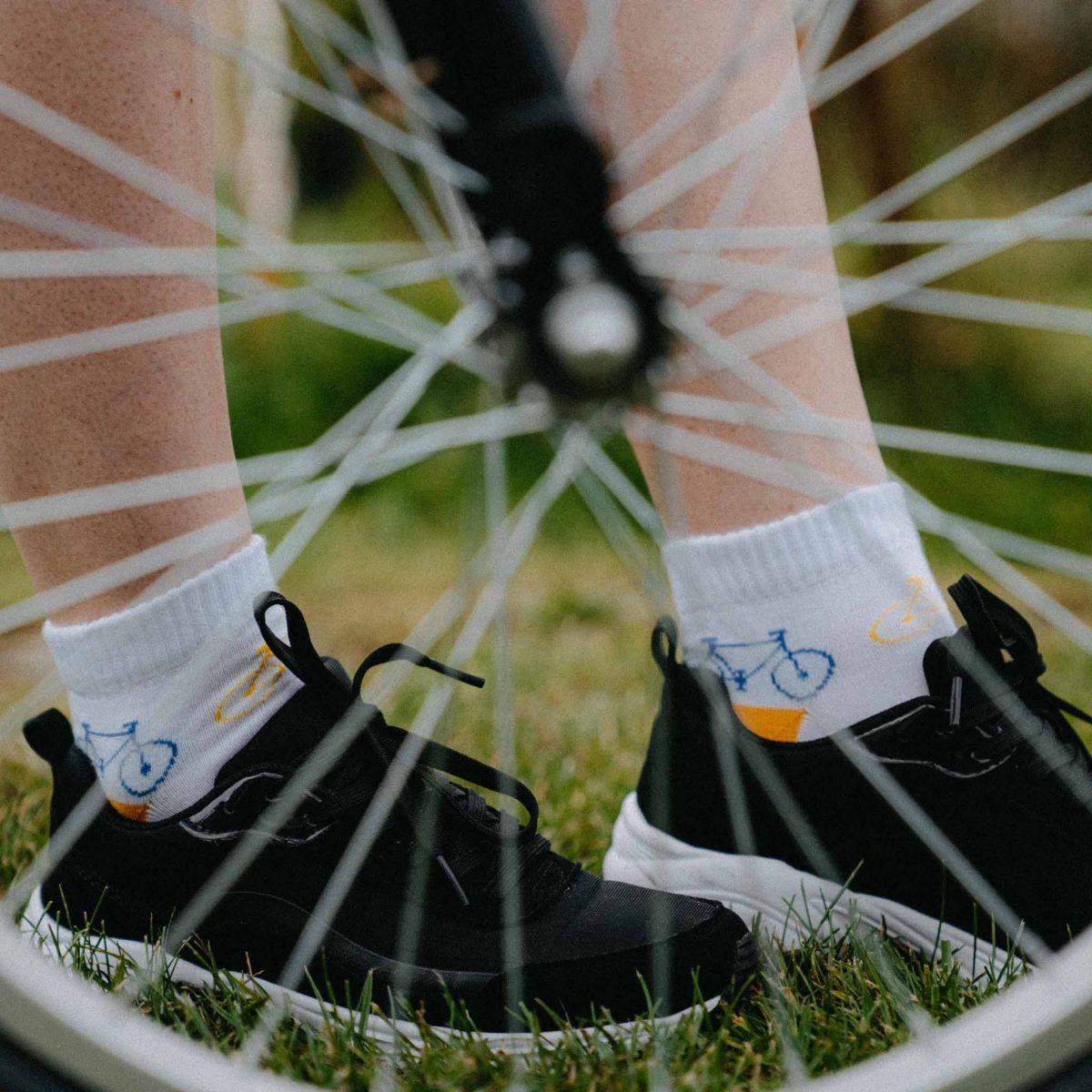Ponožky - Kolo nízké p1