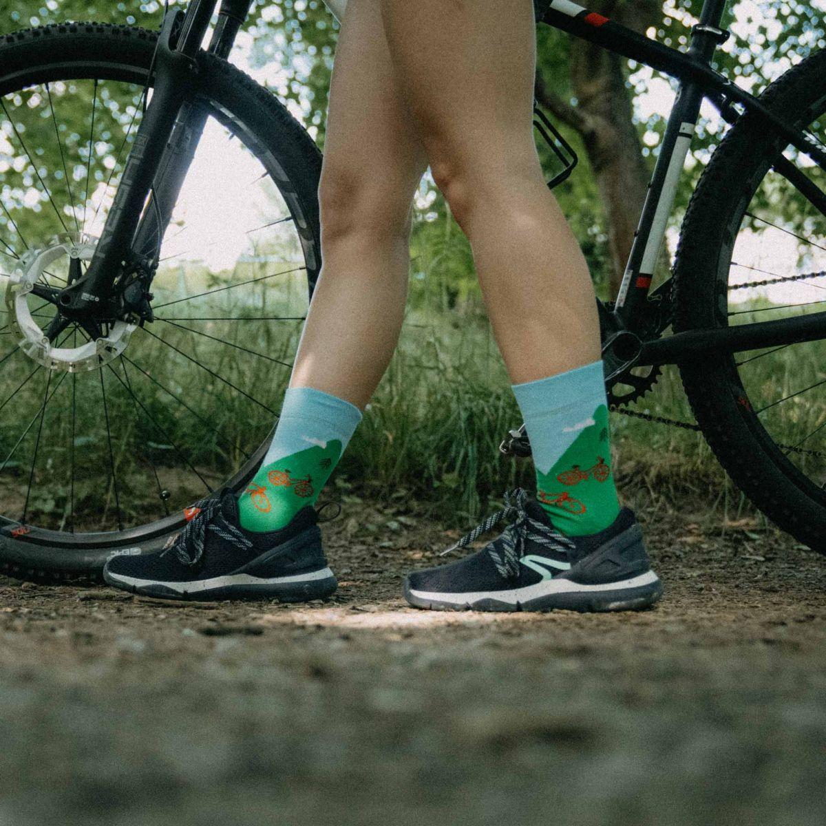 Socken - Fahrrad 2