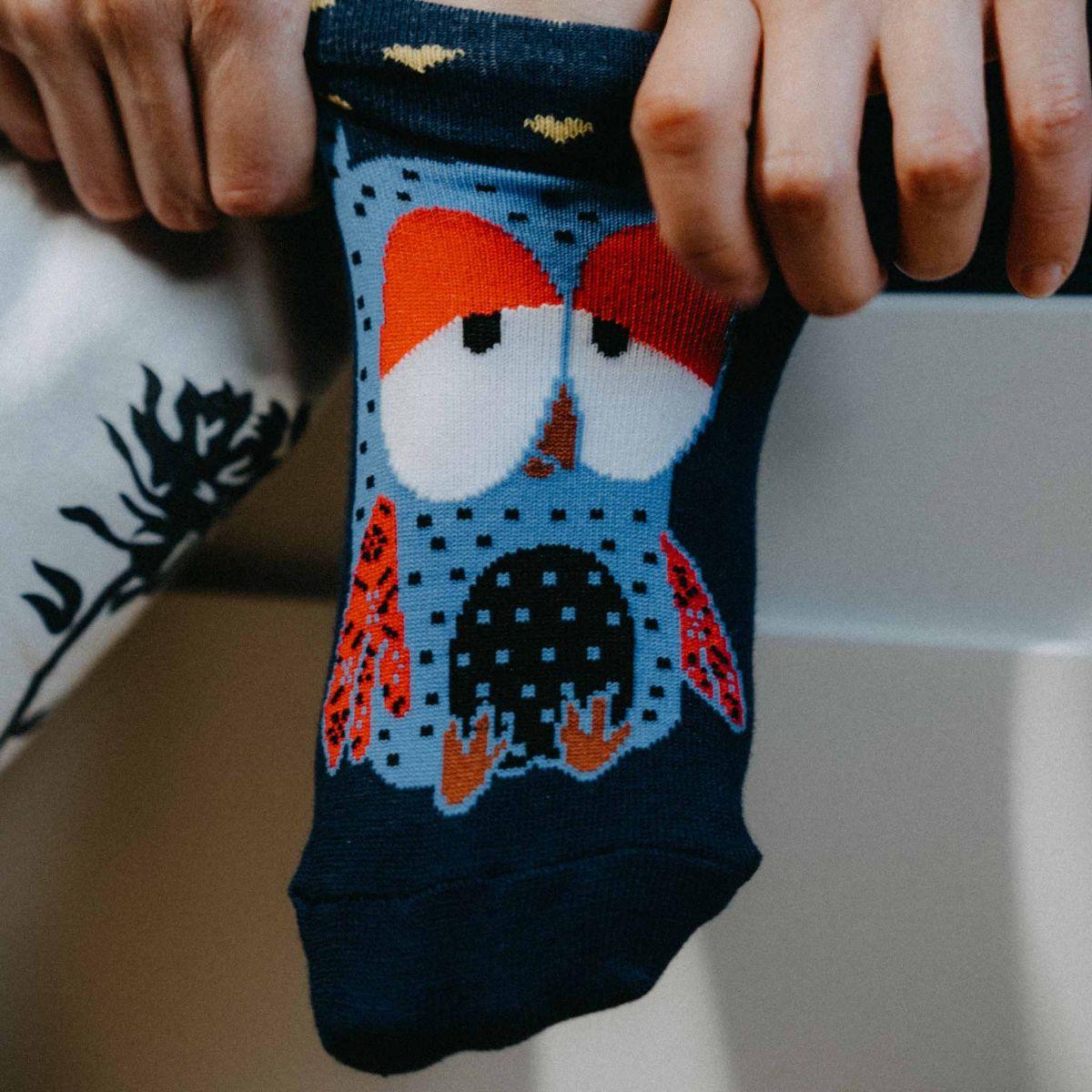 Ponožky - Sovy p3