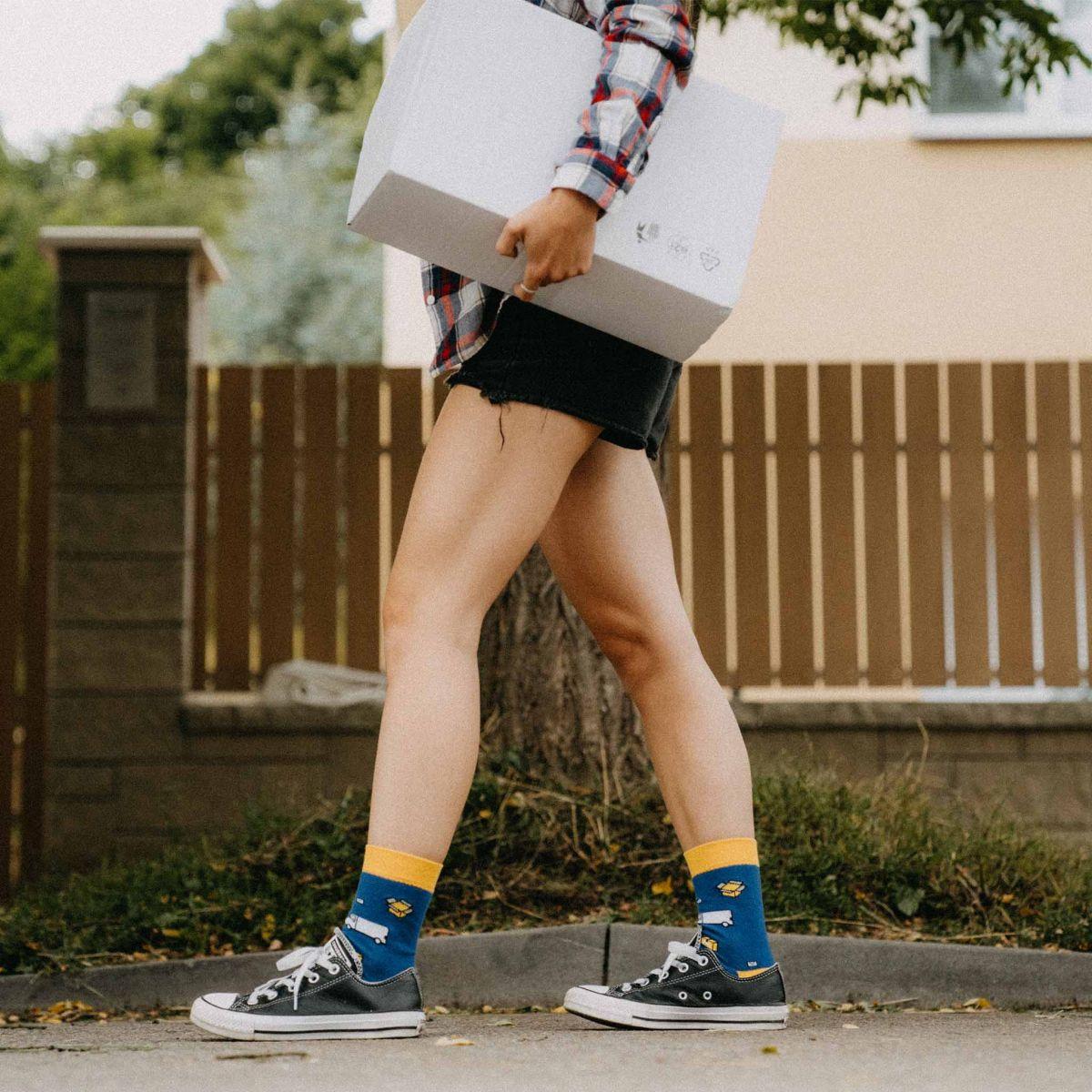 Ponožky - Doručovateľ p2