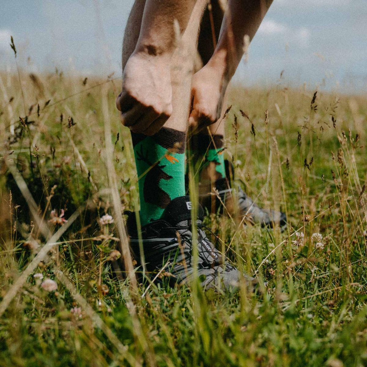 Ponožky - Poľovník p1