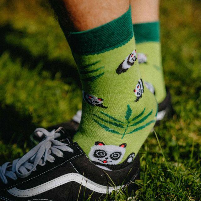 Socken - Panda p2