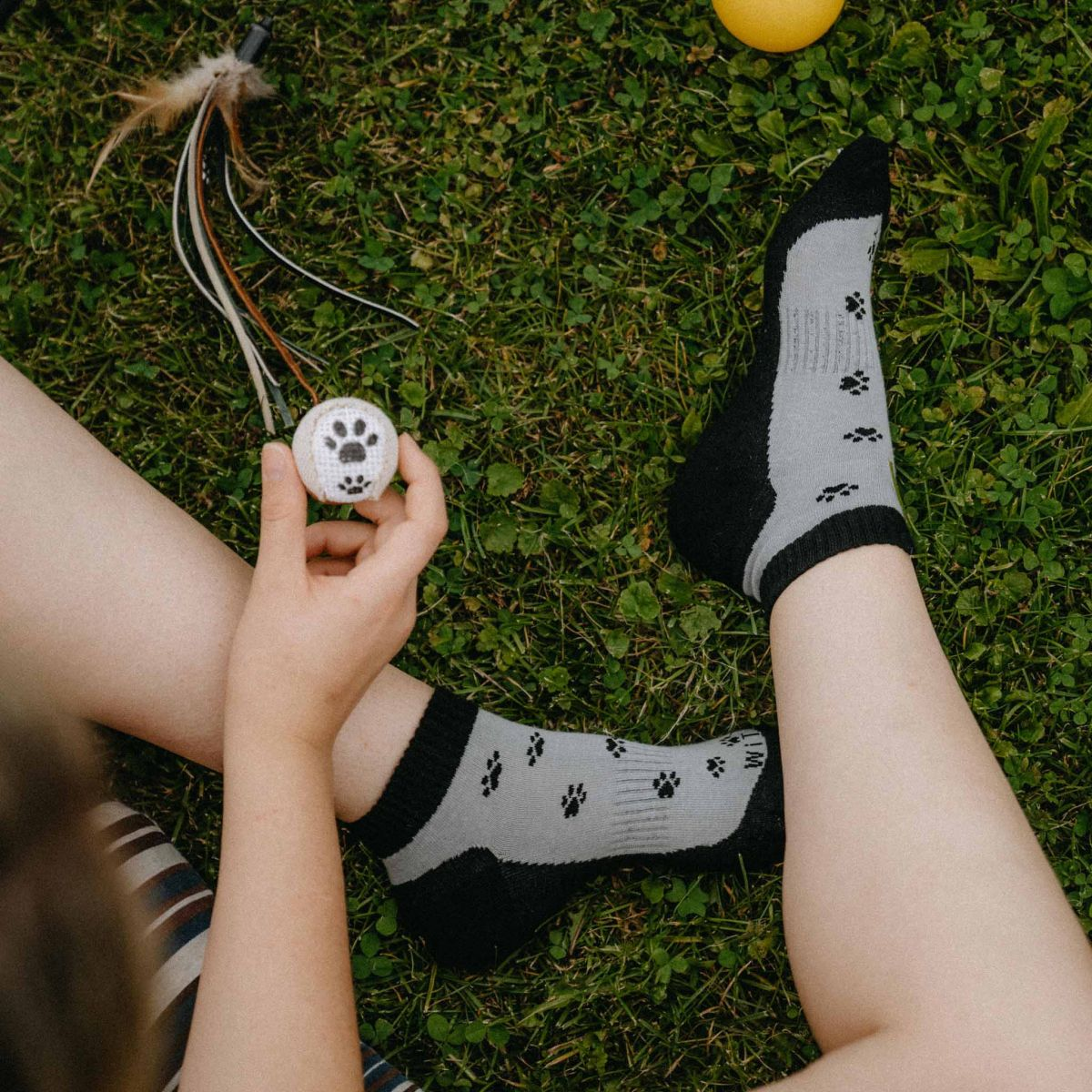 Socken - Pfote 1 p2