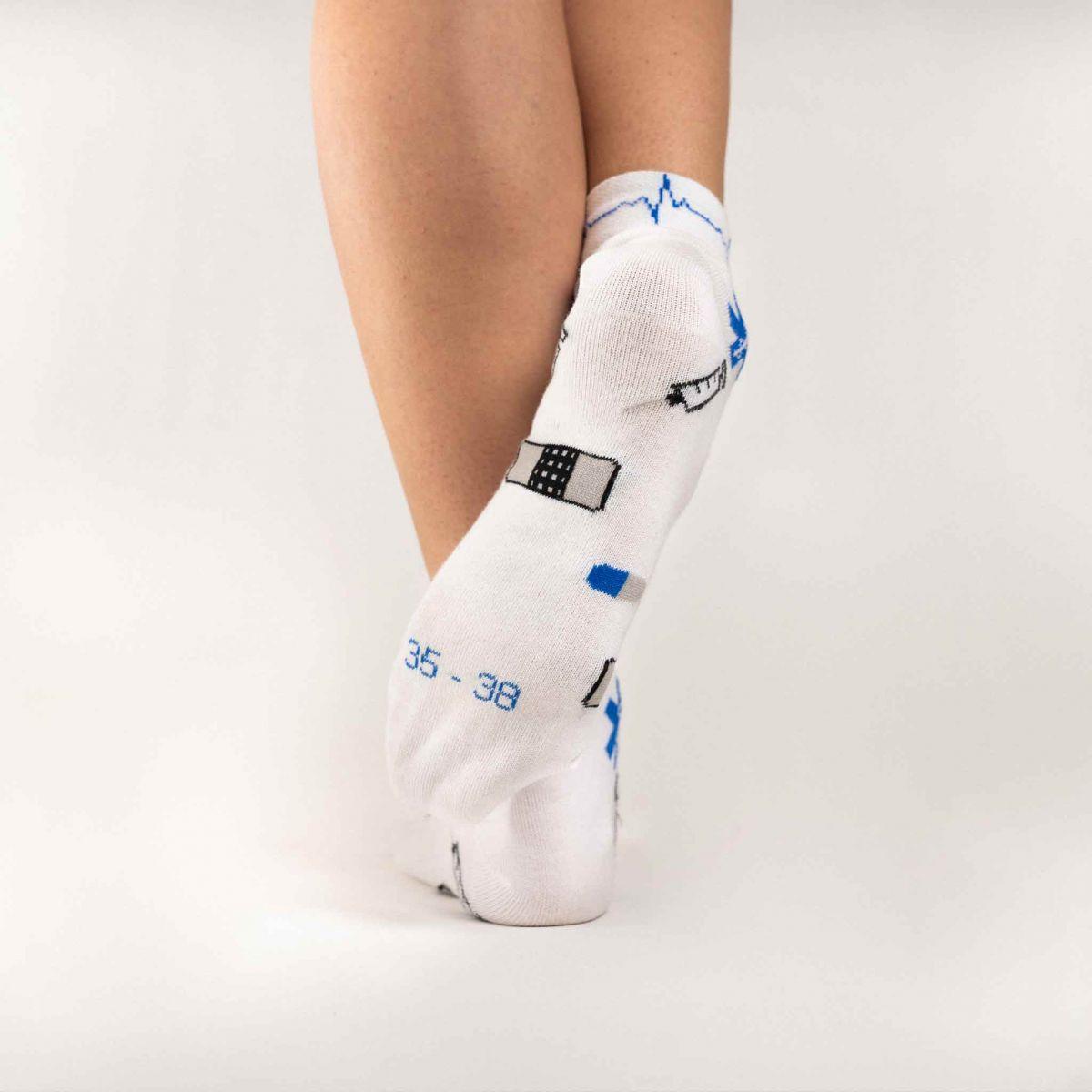 Socken - Gesundheitswesen - niedrig p4