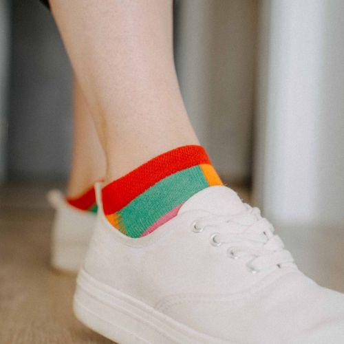 Ponožky - Barevné nízké p3