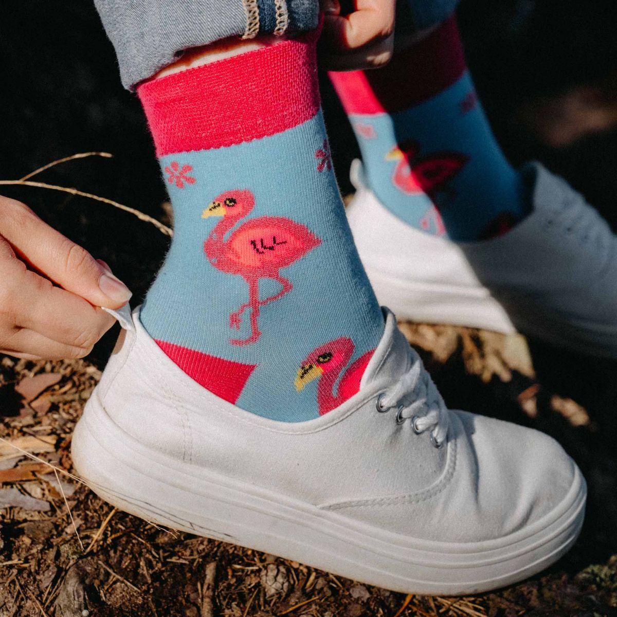 Ponožky - Plameniak