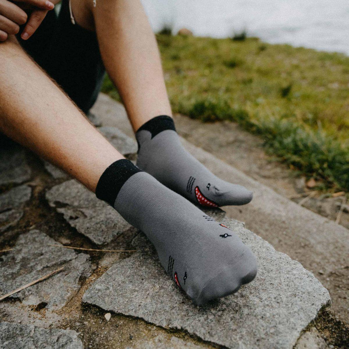 Ponožky - Žralok p2