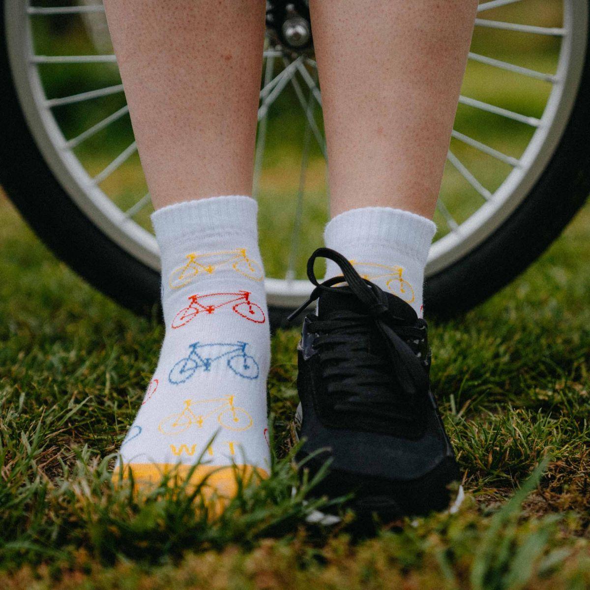 Ponožky - Kolo nízké p2