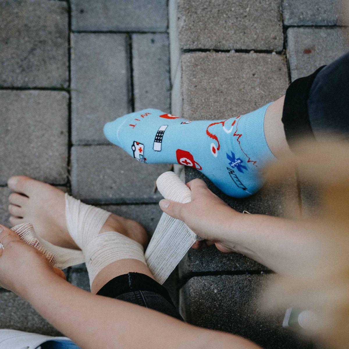 Socken - Gesundheitswesen 2 p3