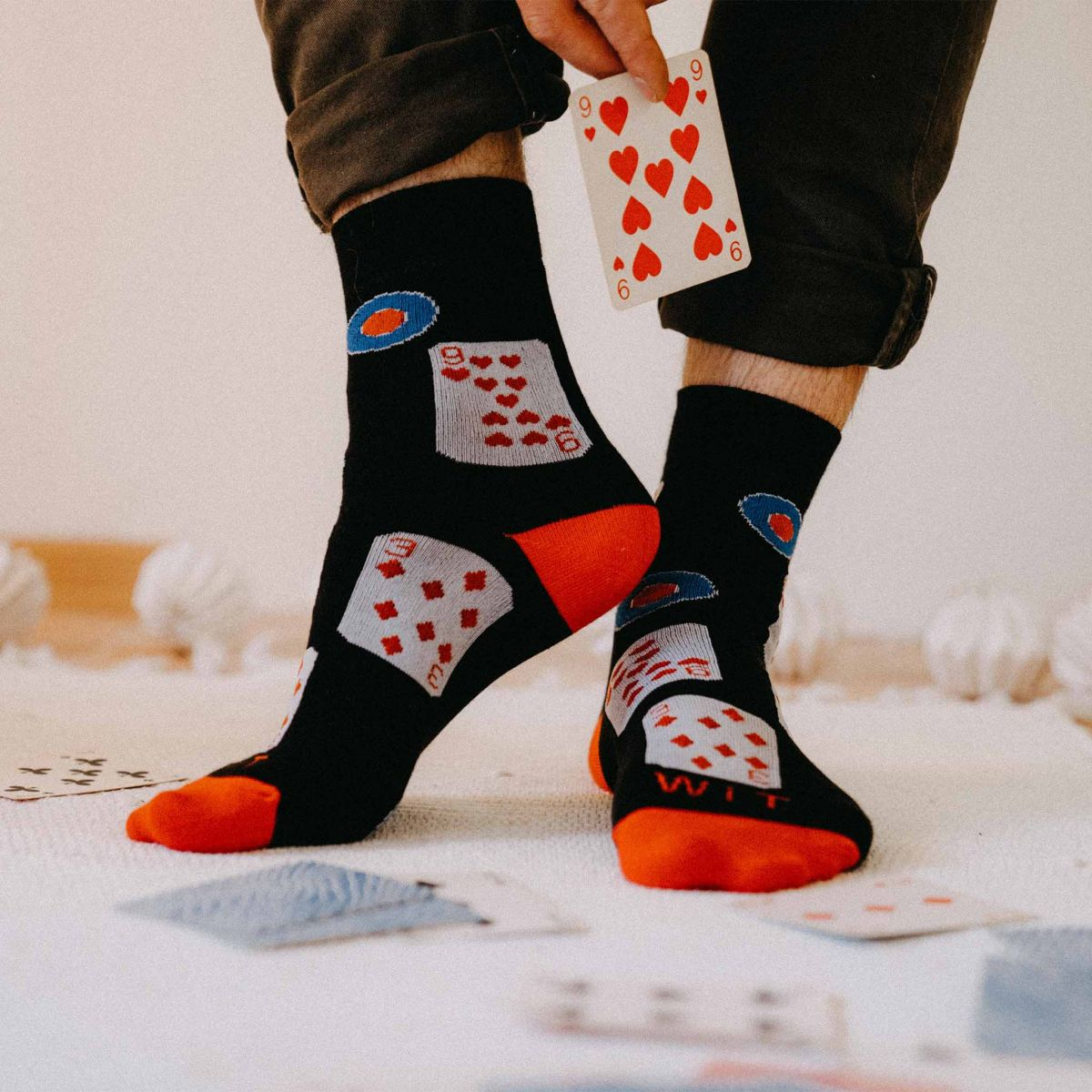 Ponožky - Karty