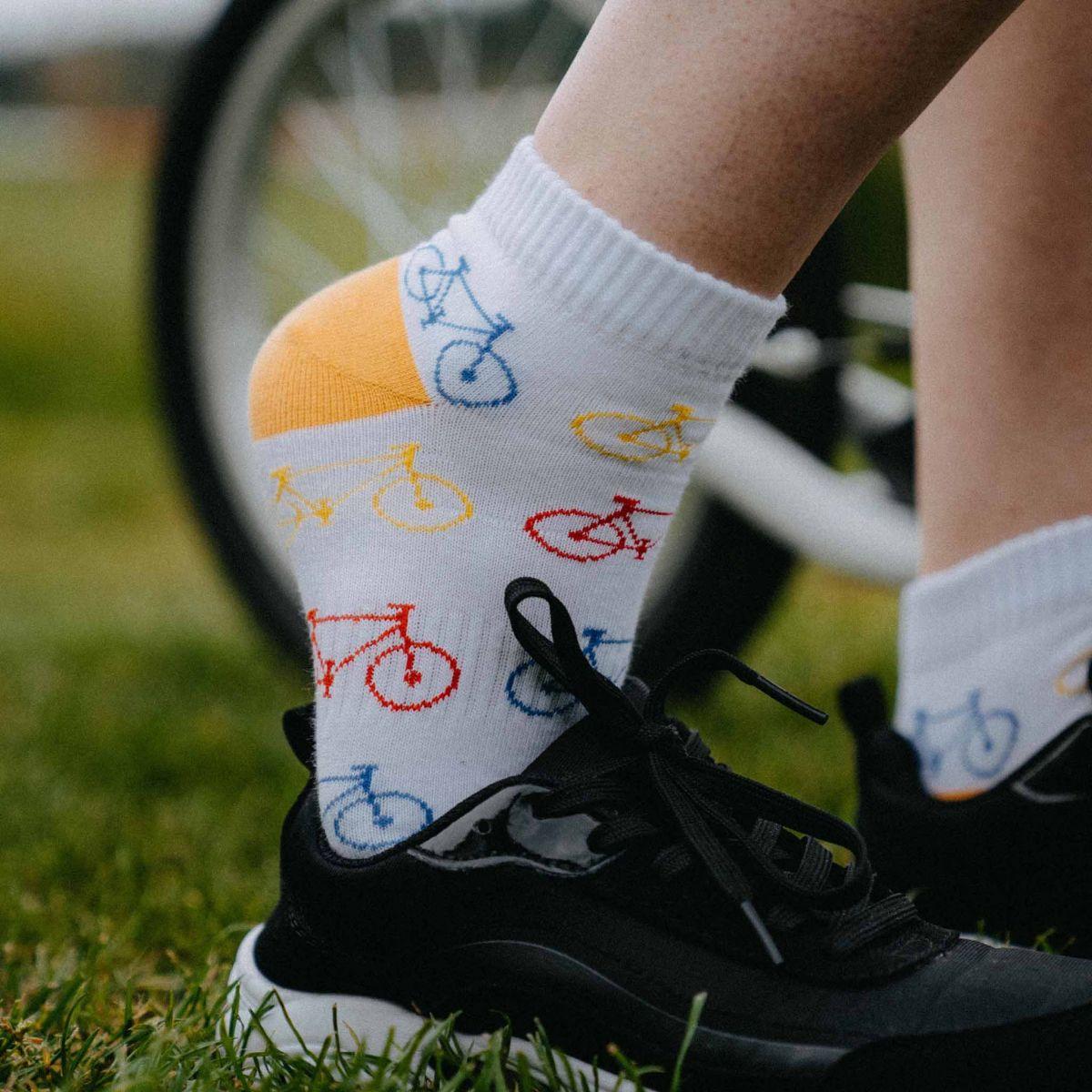 Ponožky - Kolo nízké p3