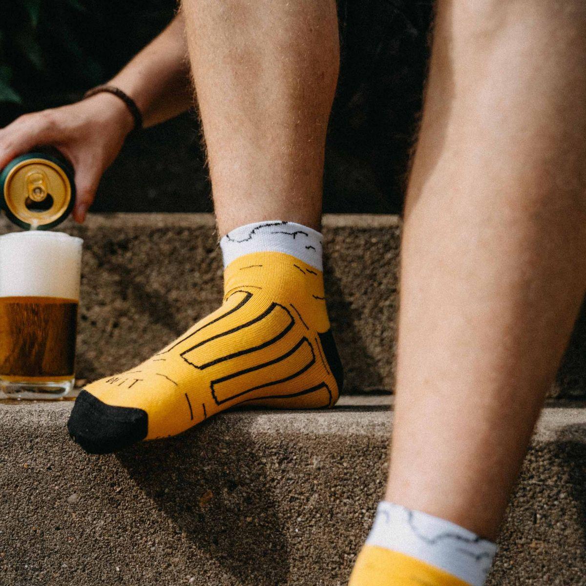 Ponožky - Pivo 14 nízké p2