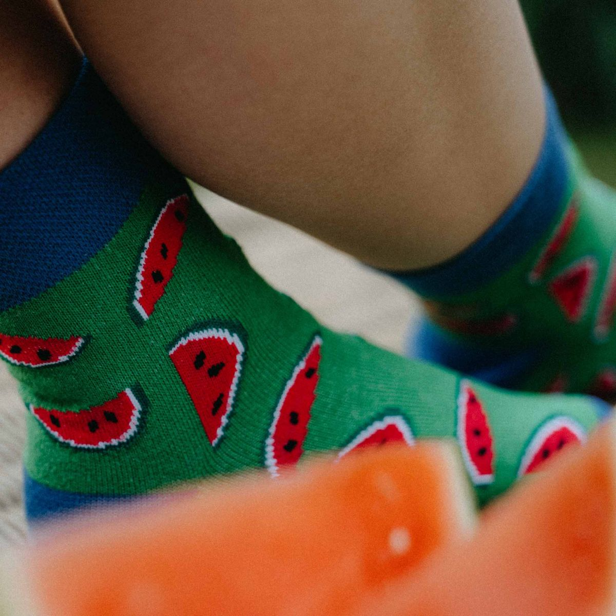 Ponožky - Melón p1
