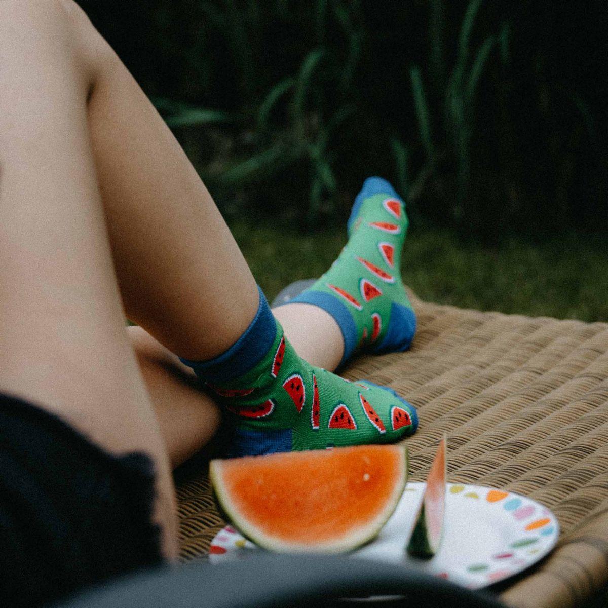Ponožky - Melón p2