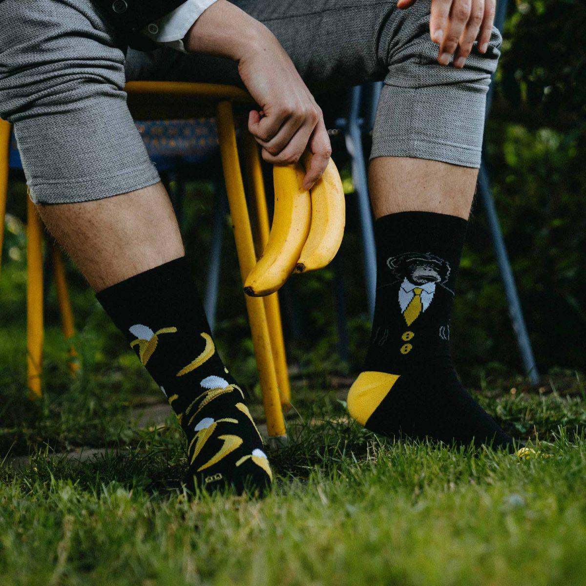 Ponožky - Opica p3