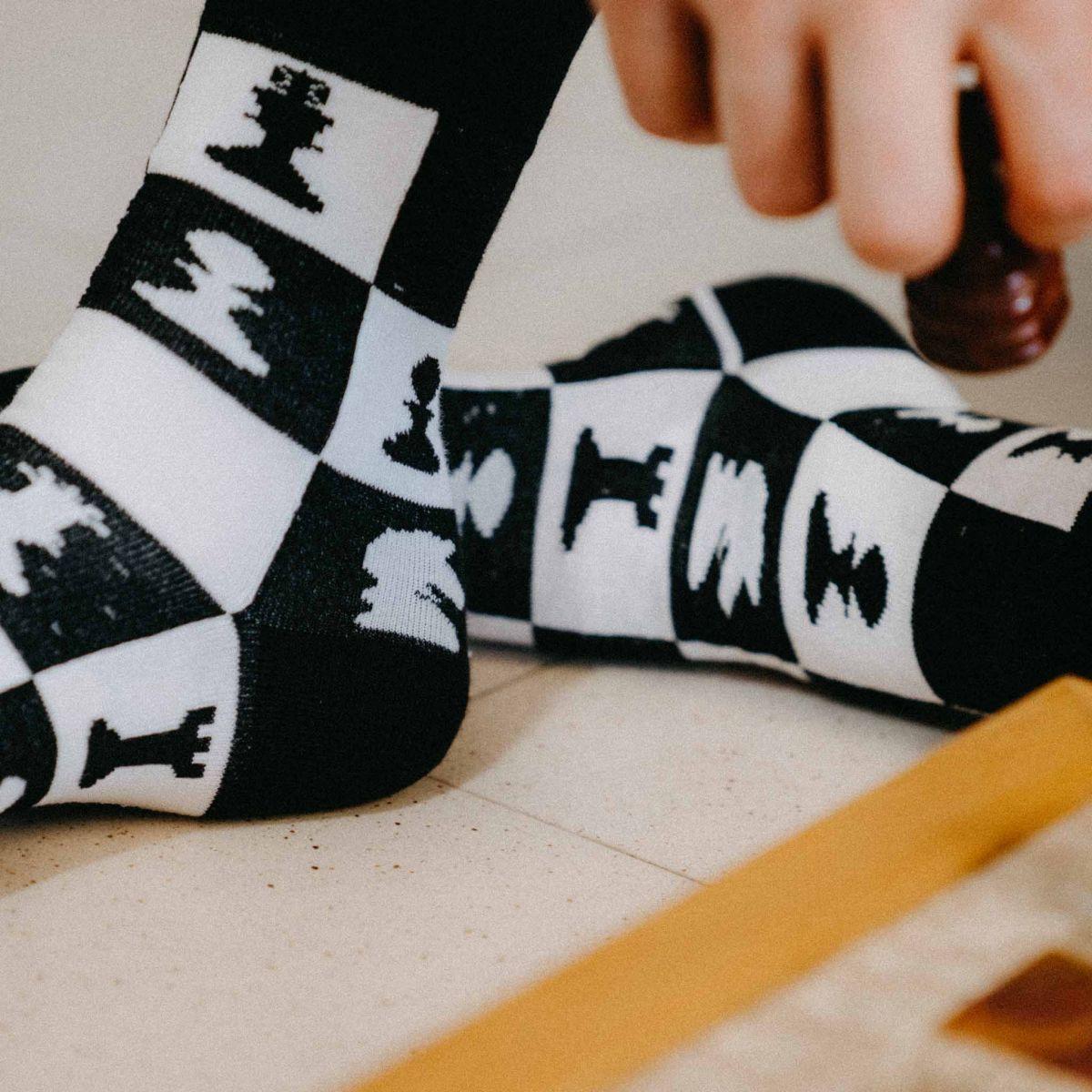 Ponožky - Šach p2