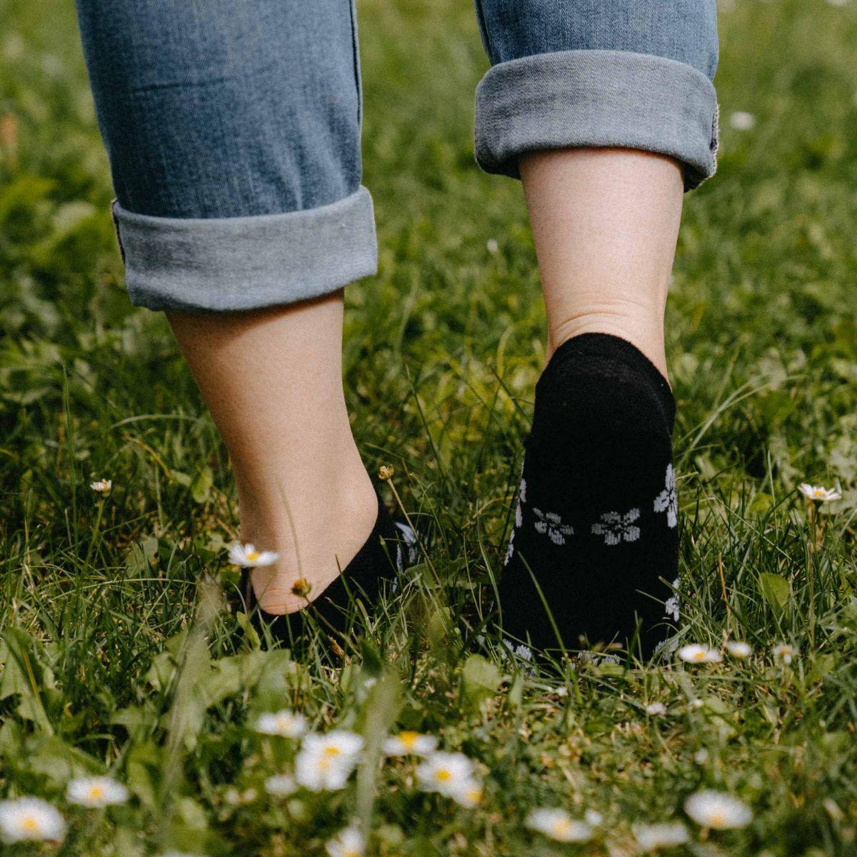 Skarpetki - Kwiatki