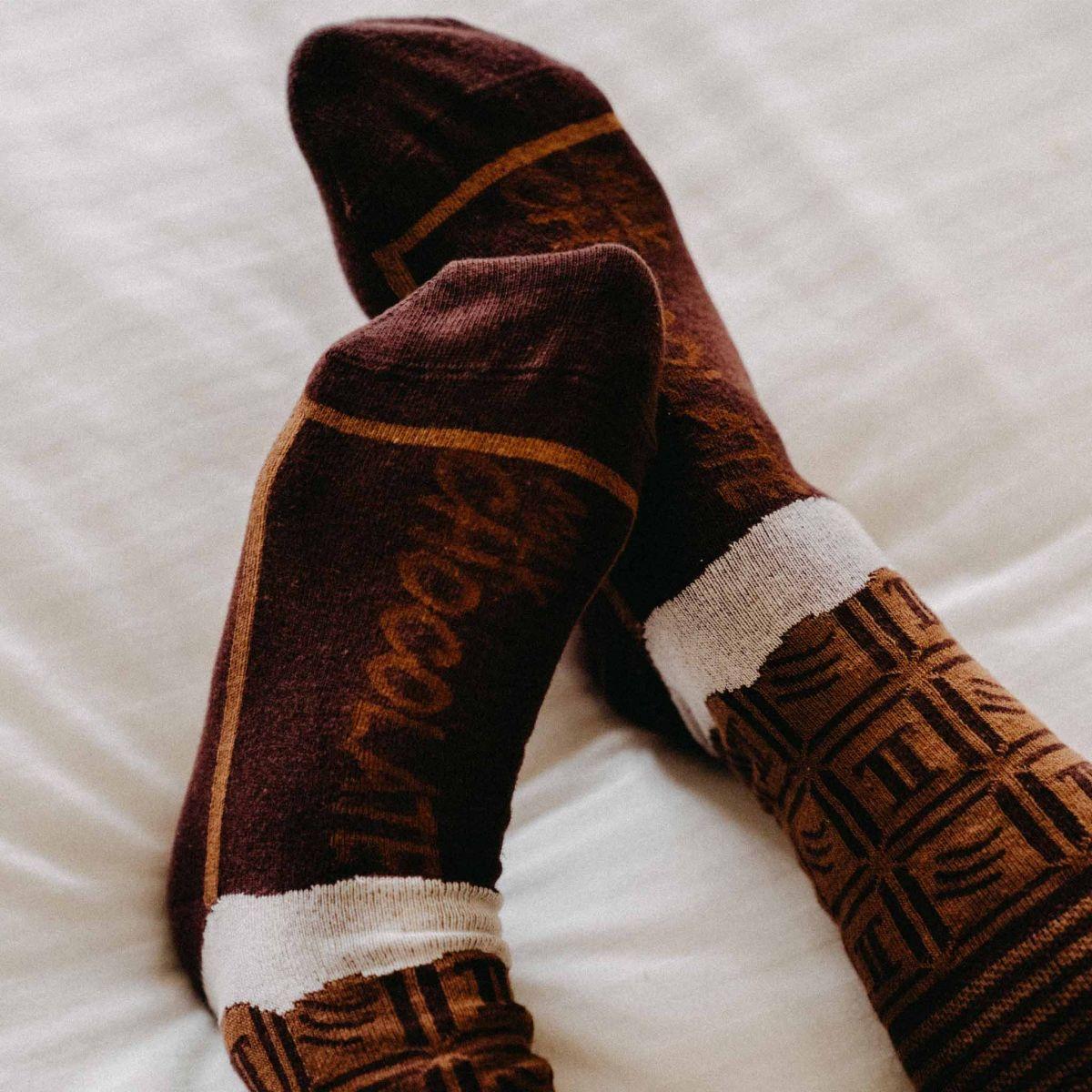 Ponožky - Čokoláda v dárkové krabičce p2