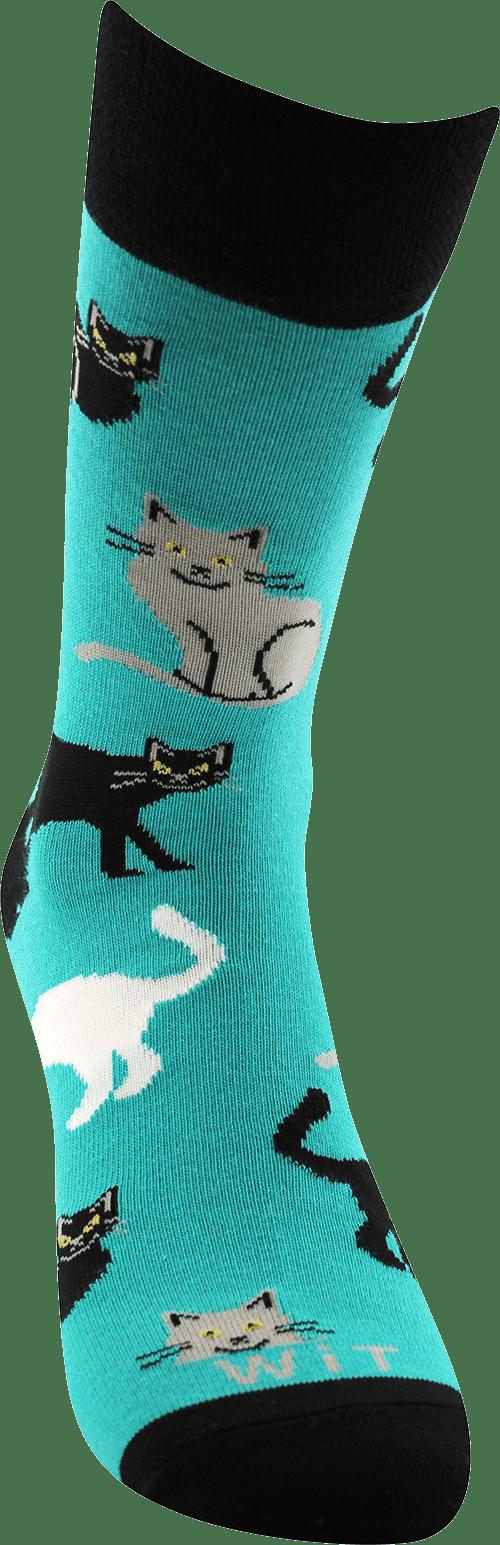 Socken - Katzen - Minze p2