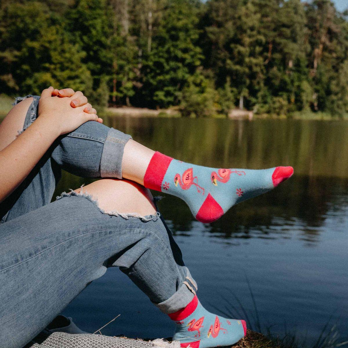 Socken - Flamingo p3