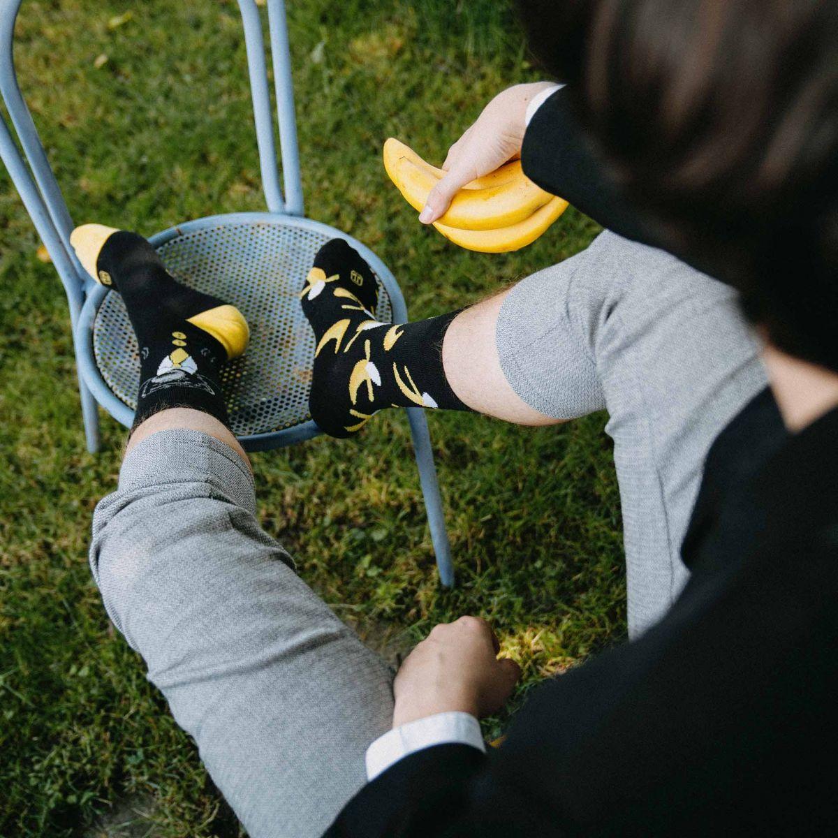 Ponožky - Opica p4