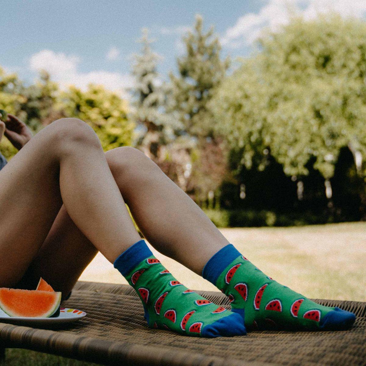 Ponožky - Melón p3