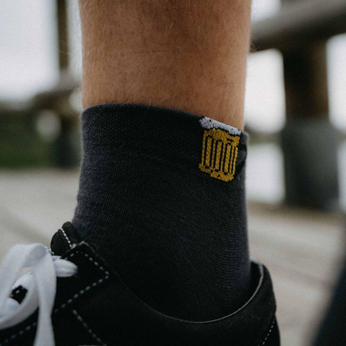 Ponožky - Pivo 13 nízke p2