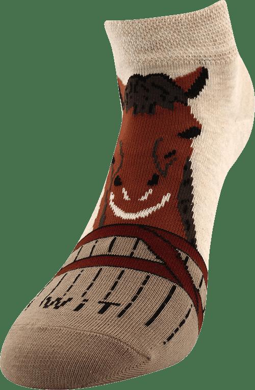Skarpetki - Koń/podkowy - niskie p4