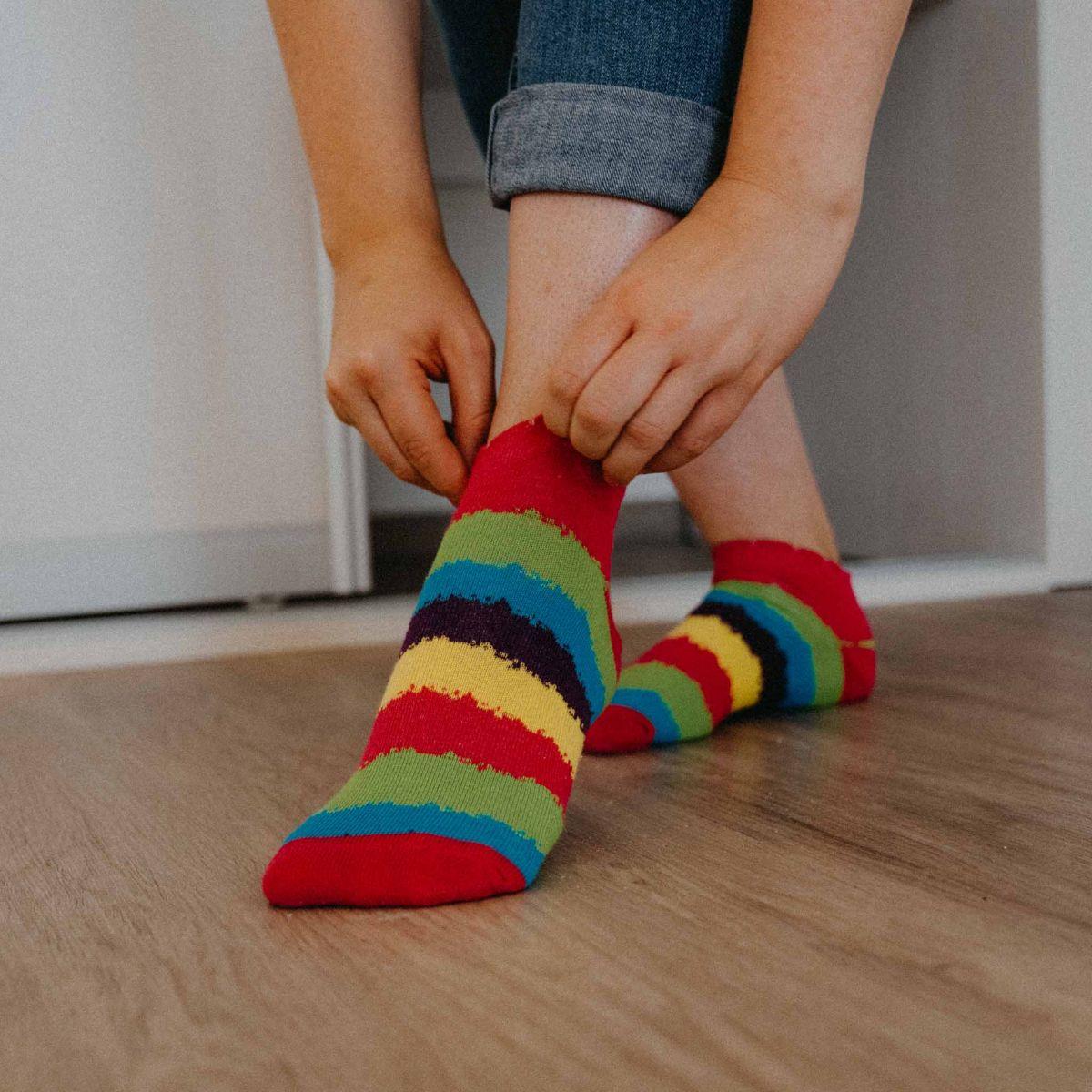 Ponožky - Pruhy nízké p4