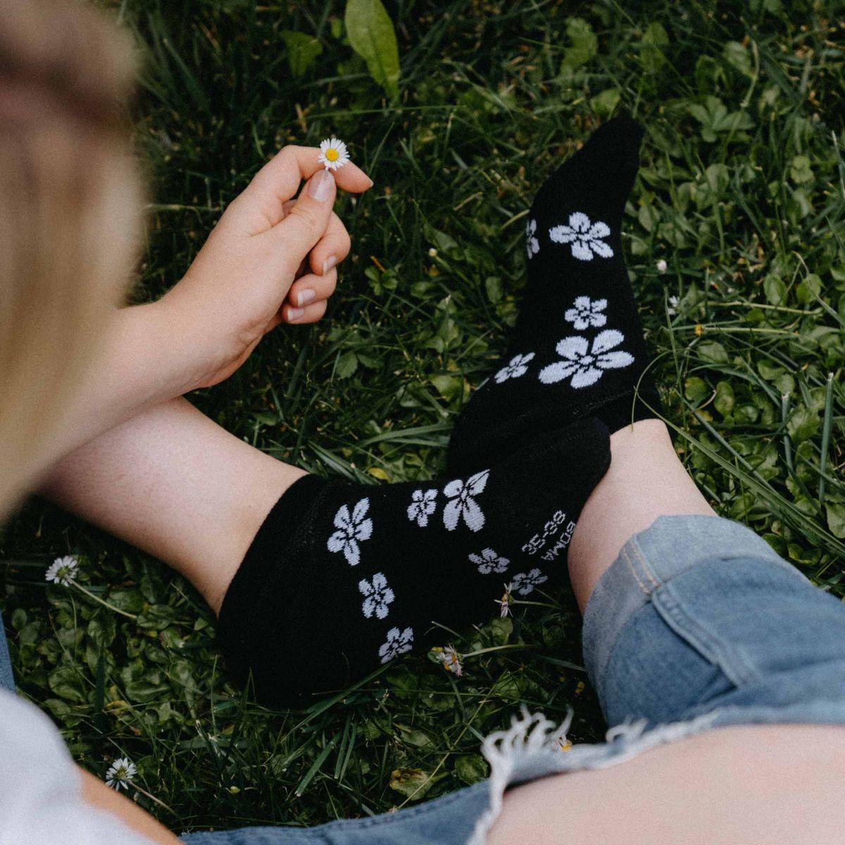 Socken - Blumen p3