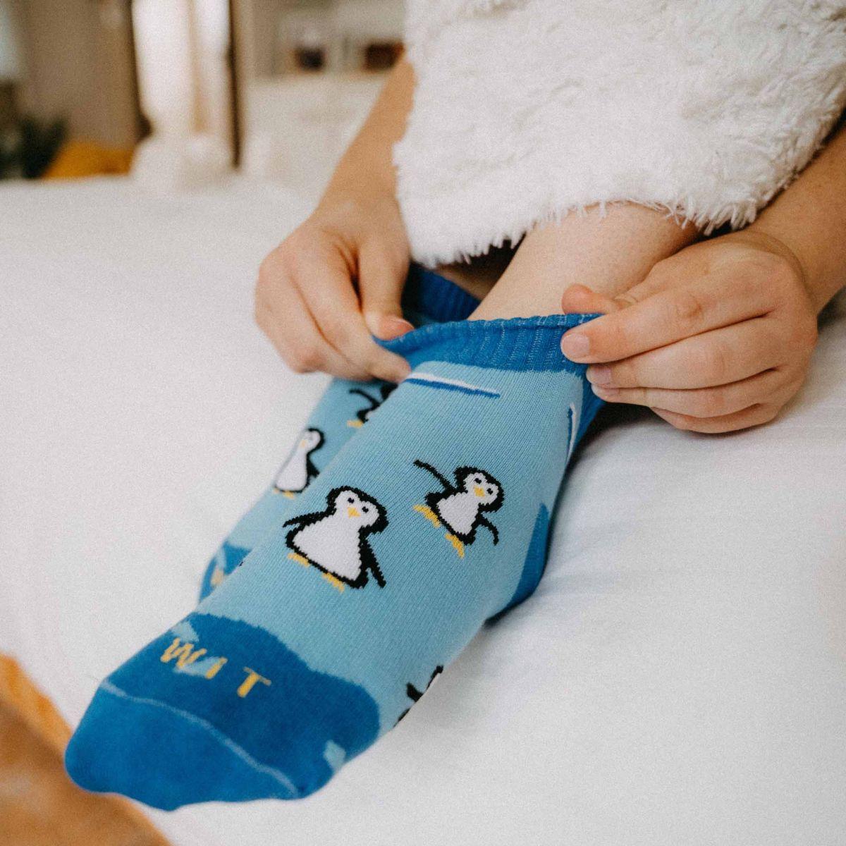 Ponožky - Tučňák nízké p2