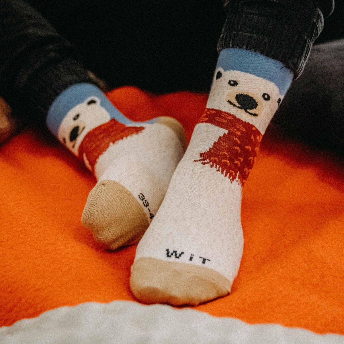 Socken - Eisbär p3