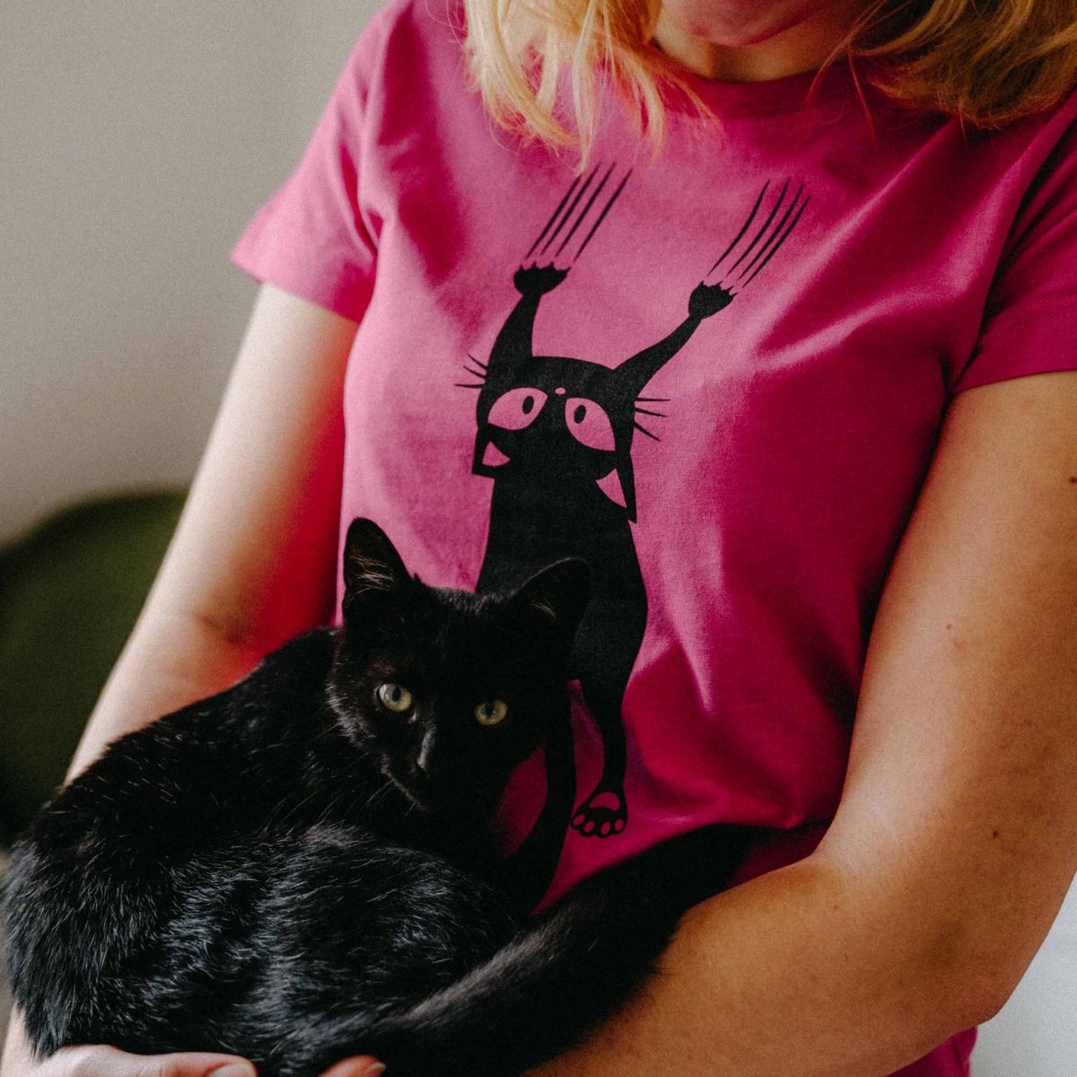 Dámské tričko Kočka p2