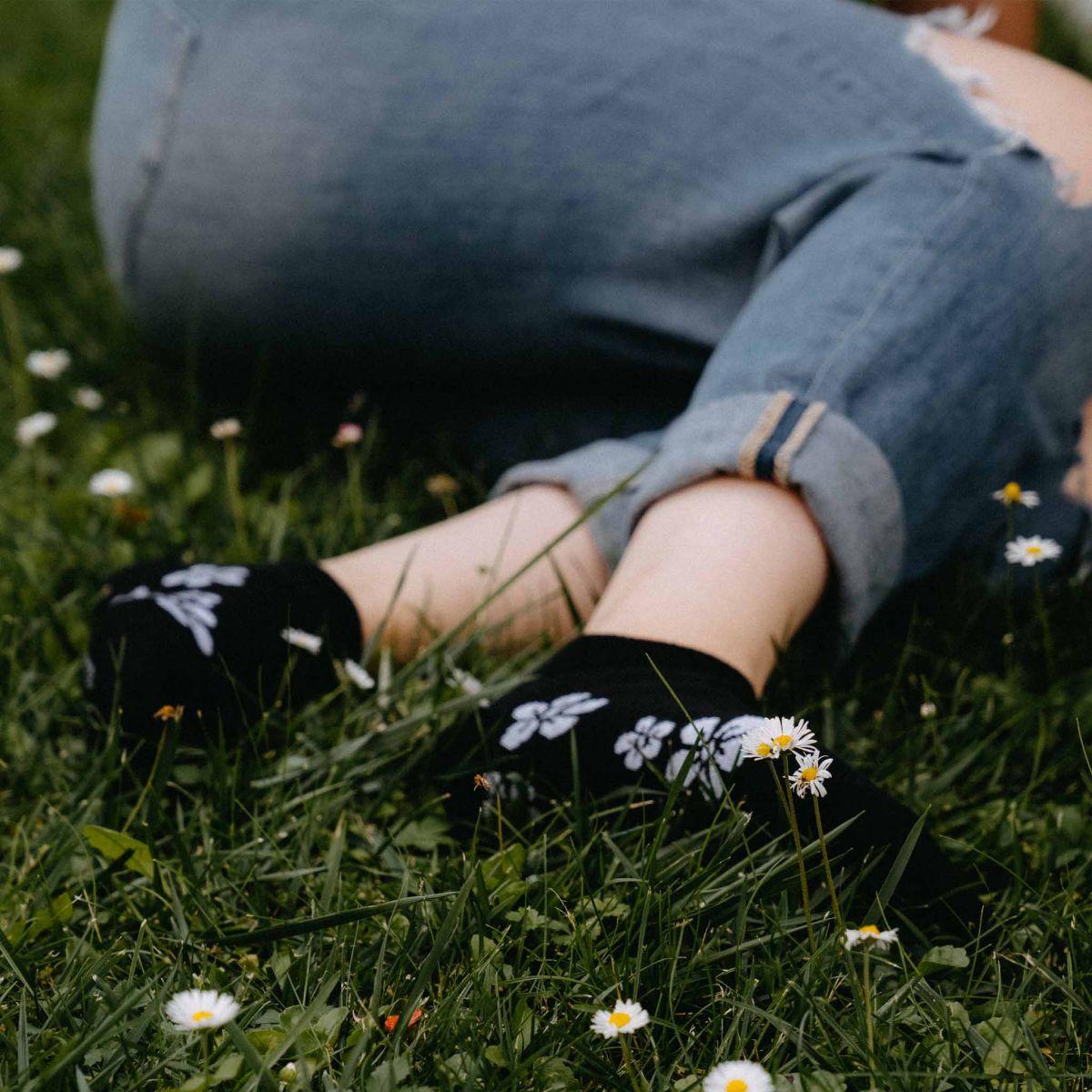 Socken - Blumen p4