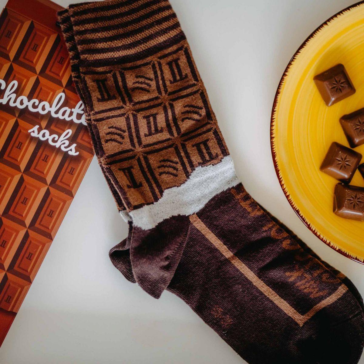 Ponožky - Čokoláda v dárkové krabičce p3