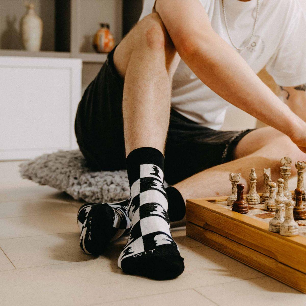 Ponožky - Šach p3