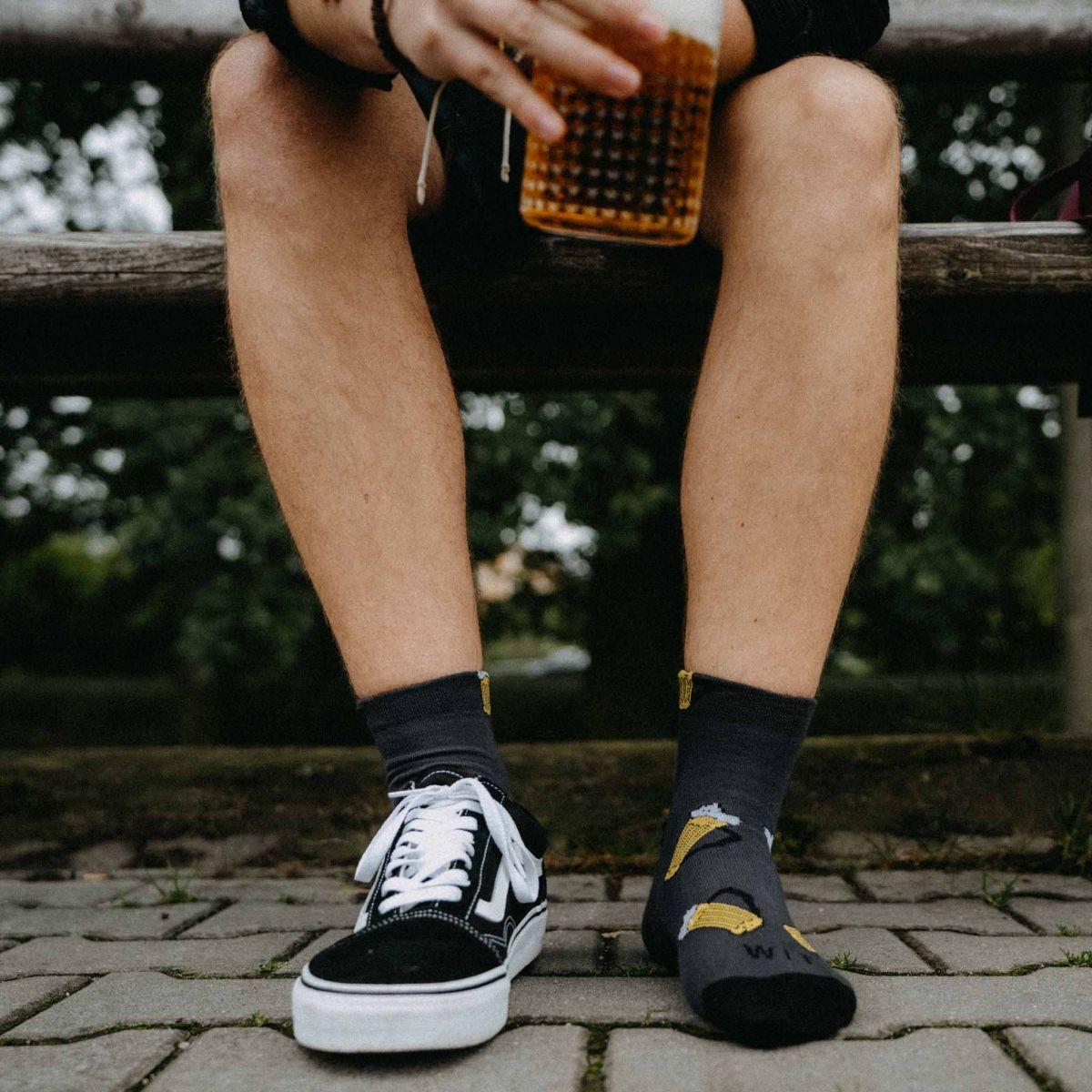 Ponožky - Pivo 13 nízke p3