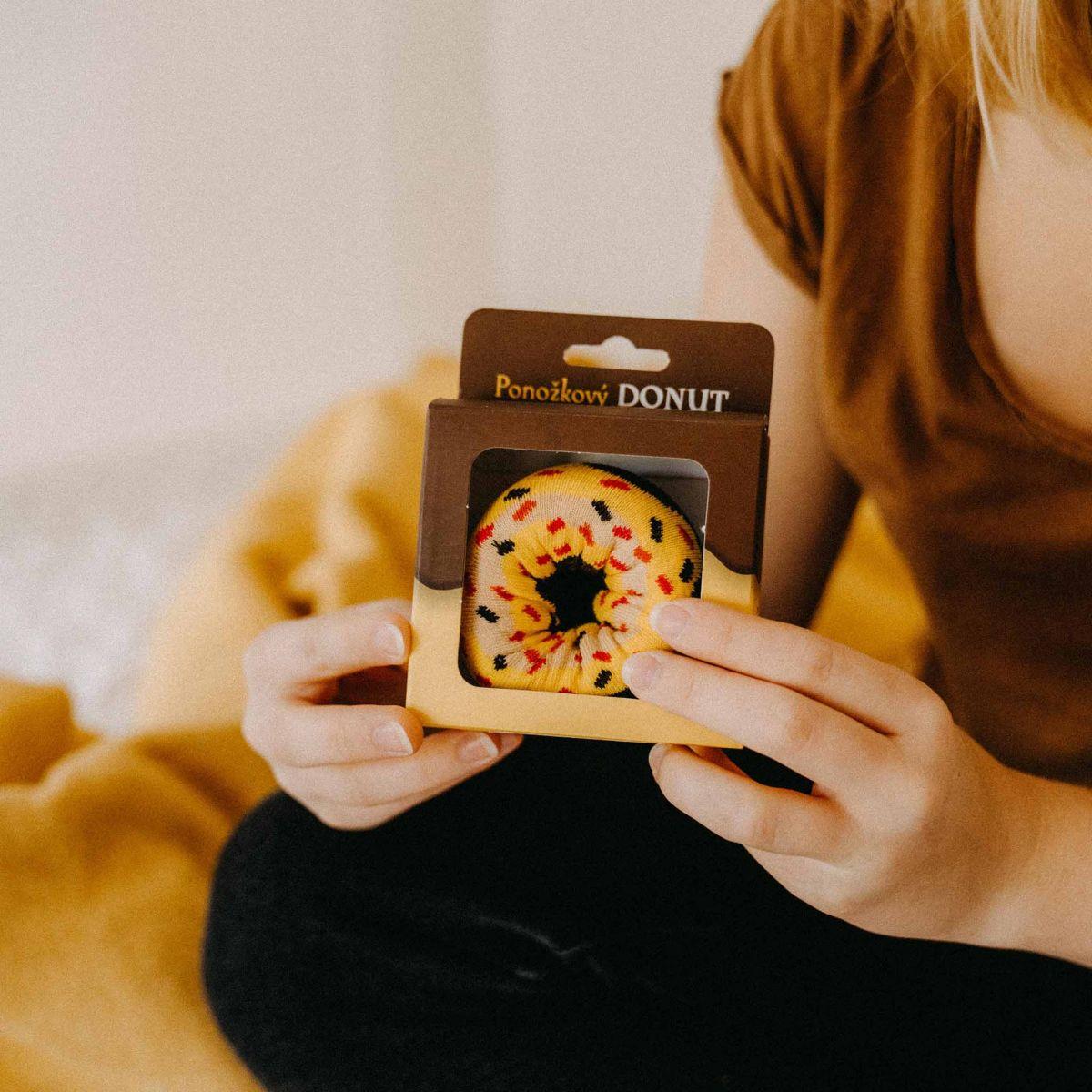 Ponožky - Donut p4
